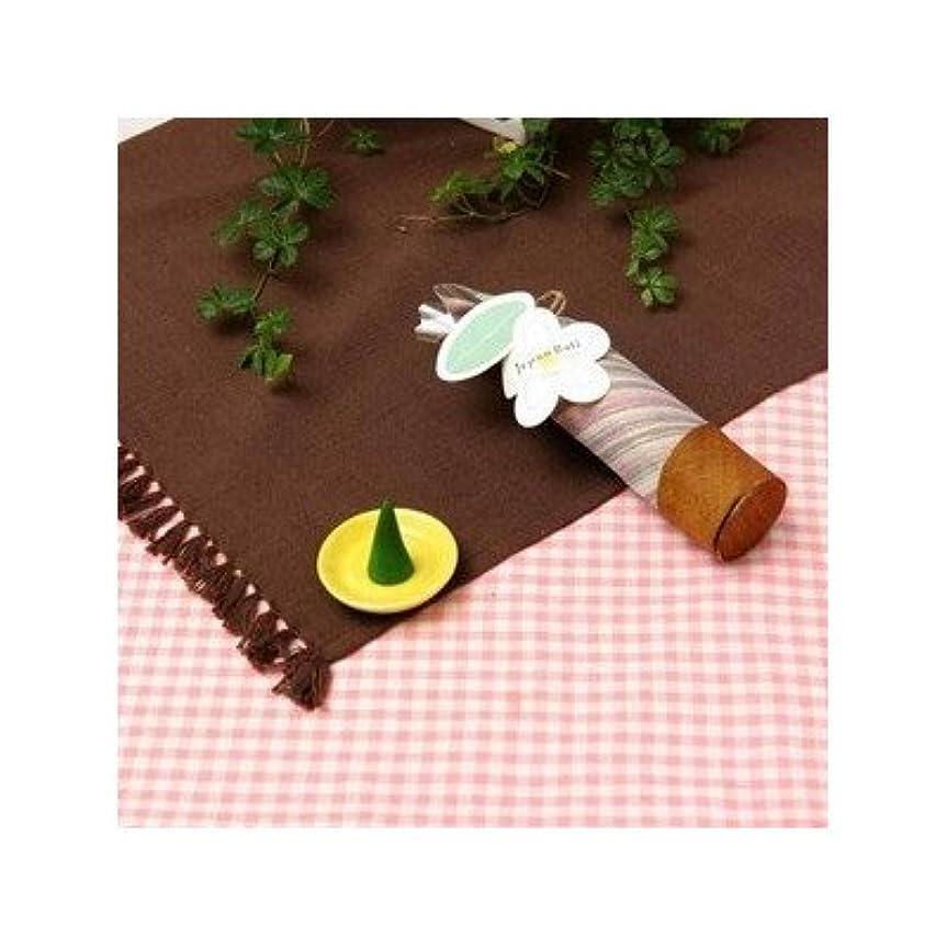 望み複製する背景お香/インセンス 〔ロータスの香り コーンタイプ10個入り〕 バリ島製 「Jupen Bari/ジュプンバリ」[通販用梱包品]