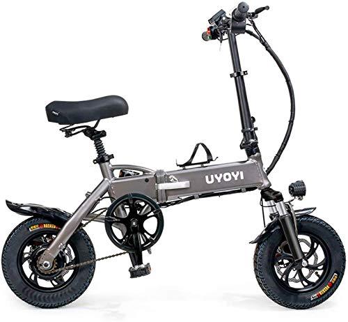 Elektrofahrrad, Folding Elektro-Bike for Erwachsene, Elektro-Fahrrad/Pendeln Ebike 250W Aluminiumlegierung-Fahrrad...