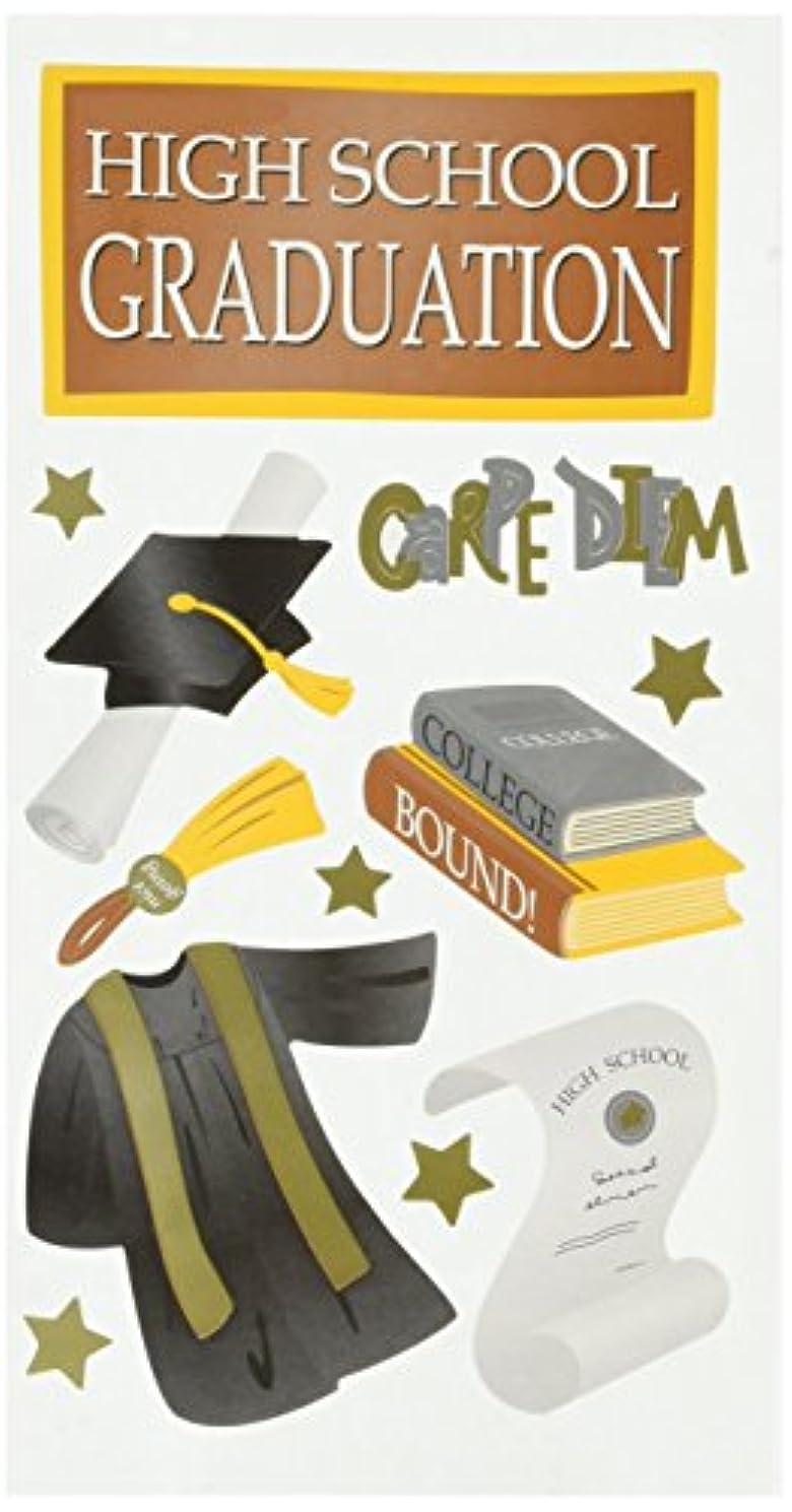 Sticko Seasonal Stickers, High School Graduate