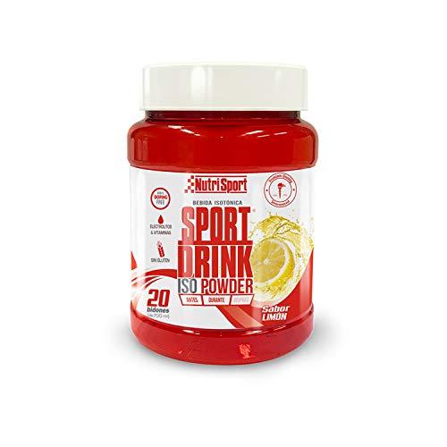 Nutrisport Sport Drink ISO Powder, Bebida Isotónica en Polvo, Hidratos