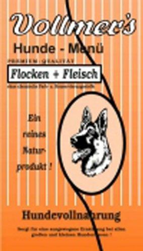 Vollmer's 37003 Hundefutter Flocken und Fleisch 15 kg