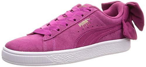 PUMA Damen Suede Bow WN's Sneaker, Pink Magenta Haze 03, 39 EU