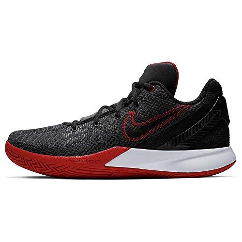 Nike Men's Kyrie Flytrap II Zoom cushioning Basketball Shoes ( Black/Red / #95 )