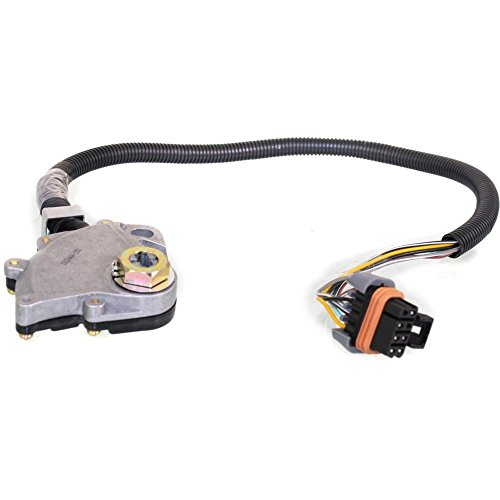 Neutral Safety Switch compatible with Jeep Cherokee 87-96 / Comanche 89-92 Automatic Transmission 6 Female Terminals