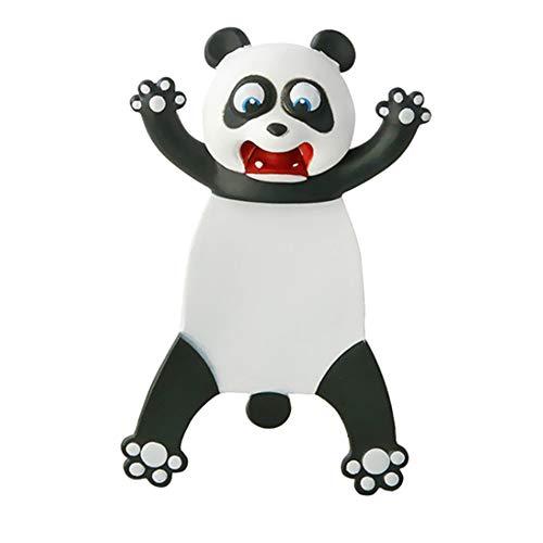 DXIA Segnalibro Animale del Fumetto 3D, Segnalibri Animali dei Cartoni Animati 3D, Segnalibri Divertenti Simpatici Personalizzati, Segnalibro Bambini Regalo per Compleanno Cancelleria (Panda)