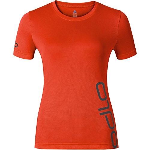 Odlo S/S Event T T-Shirt pour Femme XS Tomate Cerise