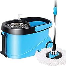 MU Double Drive Rotary mop Bucket, niebieski