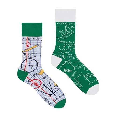 Spox Sox Casual Unisex - mehrfarbige, bunte Socken für Individualisten, Gr. 40-43, in der Schule
