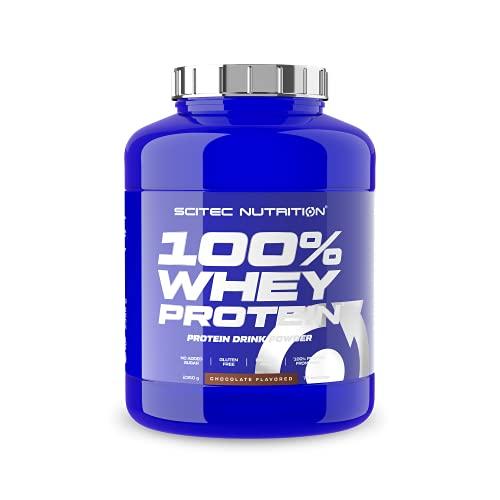Scitec Nutrition 100% Whey Protein con aminoacidi extra, 2.35 kg, Cioccolato
