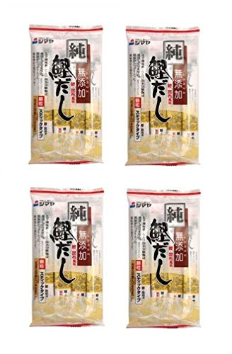 Pamai Pai® Dashino Moto Würzpulver Viererpack: 4 x 48g Portioniert Dashi Brühe Miso Suppen