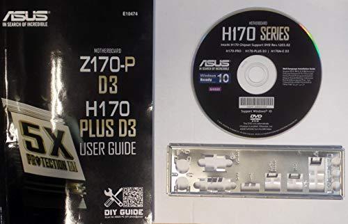 ASUS H170-Plus D3 - Handbuch - Blende - Treiber CD #306809
