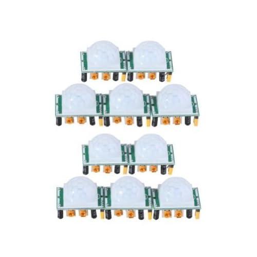 J-deal Pyroelectric Infrared PIR Motion Sensor Detector Module Hc-sr501 (10pcs)