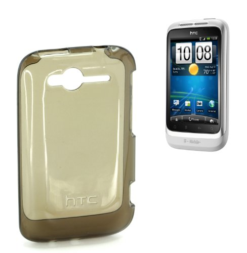 HTC TP C610 Schutzhülle für Wildfire S schwarz