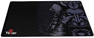 Mouse pad gaming Yeyian krieg 1080, 80x40cm, 3mm, negro/gris (yss-mp1080n)