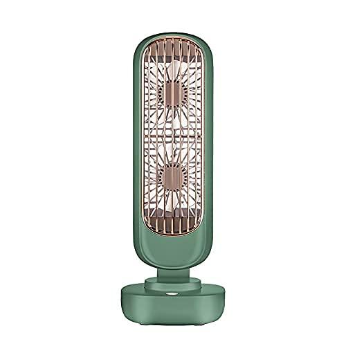wangpu Ventilador de aire portátil para circulación de aire, ventilador de refrigeración, ventilador de pie, 3 velocidades silenciosas, uso en dormitorio y oficina en casa