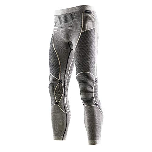 X-BIONIC I100466 Pantalon Homme Noir/Gris/Ivory FR : 2XL (Taille Fabricant : XXL)