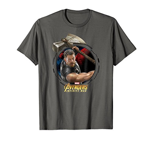Marvel Infinity War Thor And Stormbreaker Graphic T-Shirt