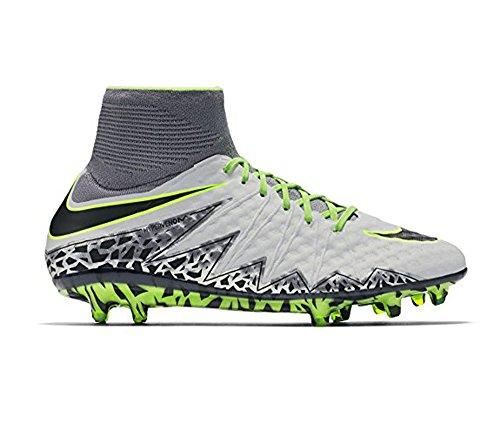 Nike, Herren Hypervenom Phantom II FG Fußballschuhe, Silber, 42.5