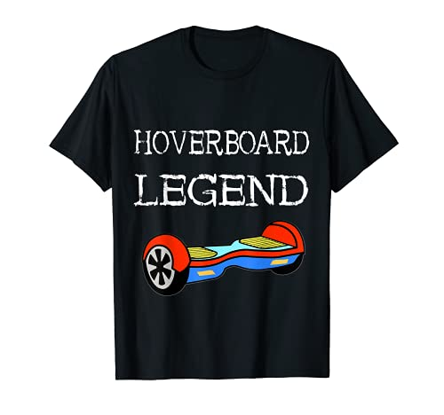 Patinador eléctrico Hoverboard Legend Hover Camiseta