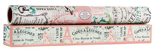 Elodie Essentials Paris Vintage Charm Scented Drawer Liners (French Lavender)