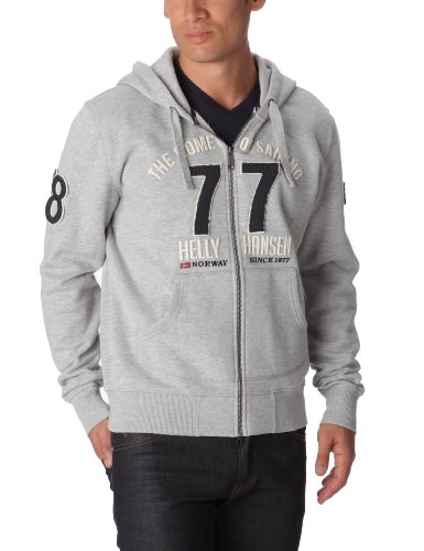 Helly Hansen Graphic F/Z Hoodie Sweat-shirt homme Grey Melang M