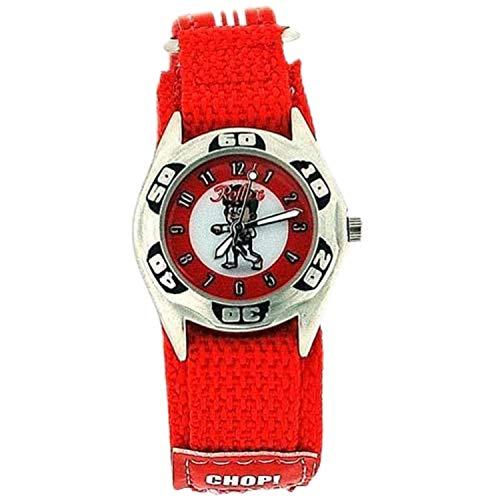 Reflex KID-0081 - Reloj, Correa de Tela Color Rojo