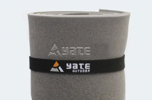 2 Stück Yate Elastikband 1 Paar Yoga Bänder Gummiband für Isomatte Yogamatte Gymnastikmatte