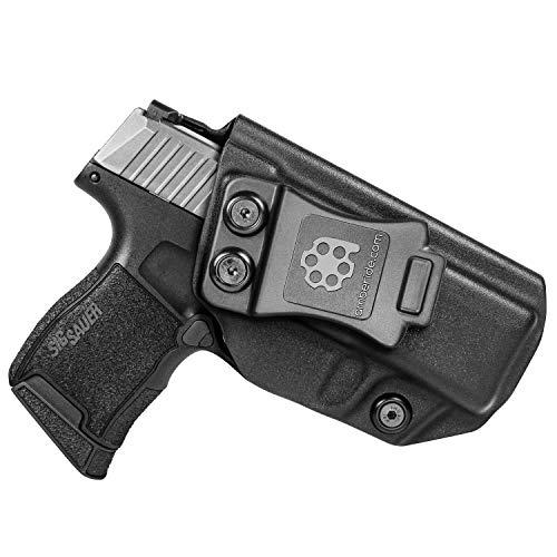 B.B.F Make/® IWB//OWB KYDEX Magazine Pouch Magazintasche Pistolenholster f/ür Glock 43 Pistole Magazine Carrier f/ür Drinnen und Drau/ßen Pistol Mag Pouch Case Black