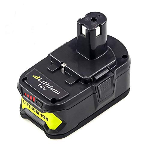 5.0Ah High Capacity Replacement for Ryobi 18V Battery ONE+ Lithium ion P108 P104 P105 P103 P107 P109 Cordless Power Tools Battery