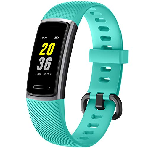 Letsfit 2020 Version Fitness Trackers HR, Activity Tracker with Heart Rate Monitor IP68 Waterproof Smart Watch, Step Counter, Pedometer Smartwatch, Sleep Monitor for Women Men