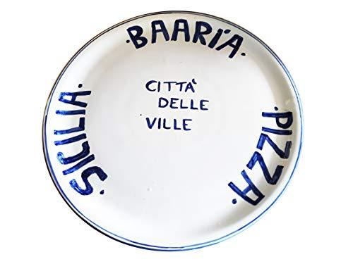 Plato de pizza Baaria Ciudad de las Ville – Sicilia – 31...