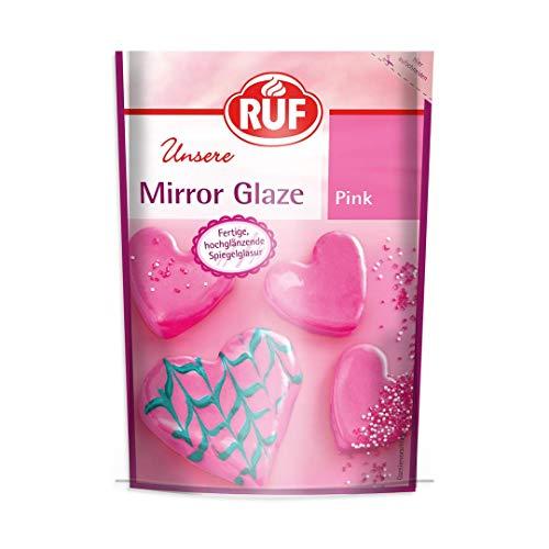 RUF Mirror Glaze Pink Spiegelglasur hochglänzend, (1 x 100 g)