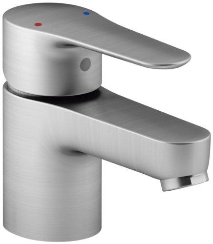 KOHLER K-16027-4-G July Single Handle Bathroom Sink Faucet, Brushed Chrome