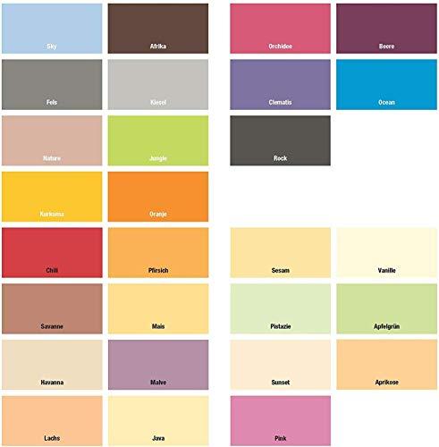 Farbige Wände Dispersionsfarbe für Innen Ocean1 Liter