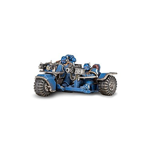 Games Workshop 1019977' Space Marine Attack Bike Tabletop and Miniature Game