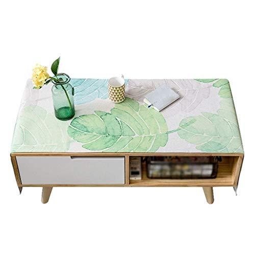 ZHDWM Stofbescherming katoen linnen kunst salontafel tafelkleed woonkamer rechthoekige tafel tafelkleed stofdoek TV-kast afdekking doek verschillende maten maximale afmetingen 80 × 180 cm stofbescherming