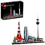 LEGO Architecture Modèle Tokyo, Skyline Collection, Ensemble de construction à collectionner, 130 pièces, 21051