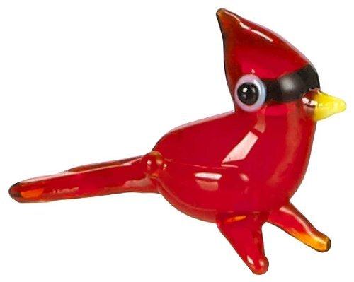 Ganz Miniature World Collectibles - Collectable Glass Cardinal Bird