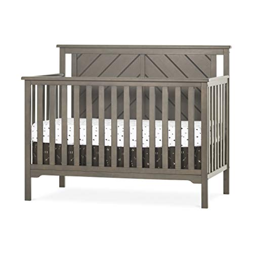 Great Features Of Forever Eclectic Hampton Flat-Top 4-in-1 Convertible Baby Crib