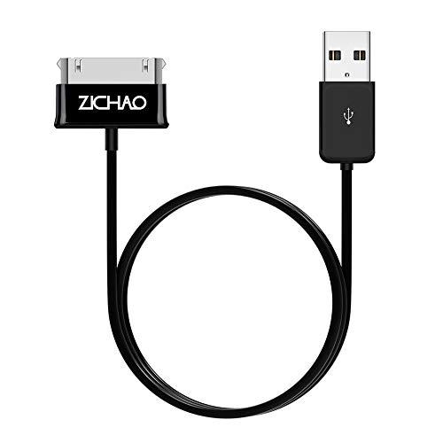 Lazmin112 Cable USB de 1 m, Transferencia de Carga Estable diseñado para Samsung Galaxy Tab 2 10.1 P5100 P7500 7.0 Plus T859