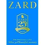 """25周年記念ライブDVD ZARD 25th Anniversary LIVE""""What a beautiful memory"""""""