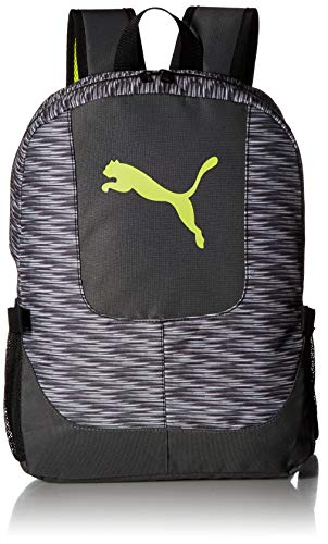 PUMA Big Kid's Lunch Box Backpack Combo, gray/green, OS
