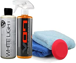 Chemical Guys HOL808116 Kit for White and Light Colors (5 Items), 32. Fluid_Ounces