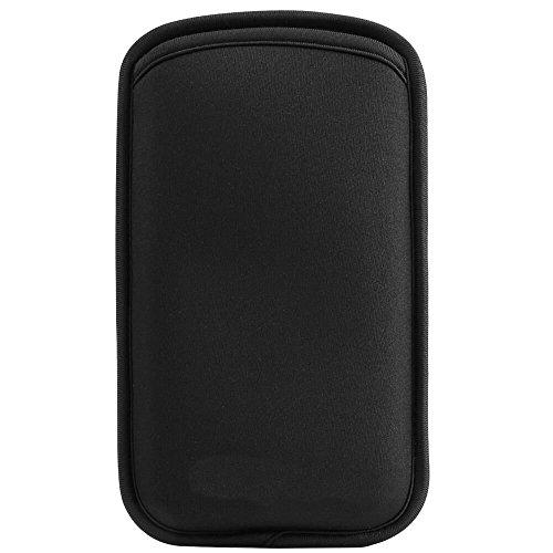 Jlyifan Universal Neoprene Shock Proof Pouch Sleeve Case for Samsung Galaxy S9 Plus/iPhone 8 Plus/LG V30 / LG G7 / Google Pixel 2 XL/Asus ZenFone 5 / 5Z / Sony Xperia XZ2 / XA 2 / Nokia 8 Sirocc