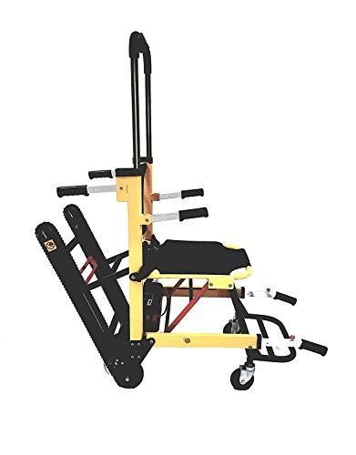 Batteriebetriebener Treppen-Evakuierungsstuhl, Leichtgewicht-Krankenwagen-Hebebühne aus Aluminium, Gewichtskapazität 350 lbs, ST003A