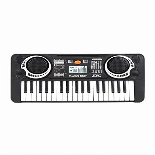 Ecommur Pianno eléctrico Infantil de 37 Teclas - Juguete Musical Educativo para...