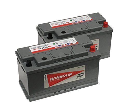 2x Hankook 110Ah Leisure Battery XV110MF