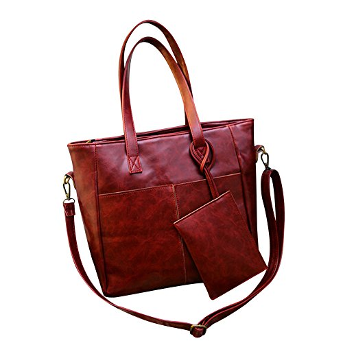Bags For Women LJSGB Leather Messenger Bag Tote Diaper Bag Dne Shoulder Bag Tote Bag With Pockets Hot Sale Handbags