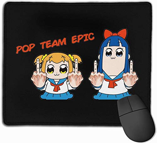 Pop Team Epic FA Q Logo muismat