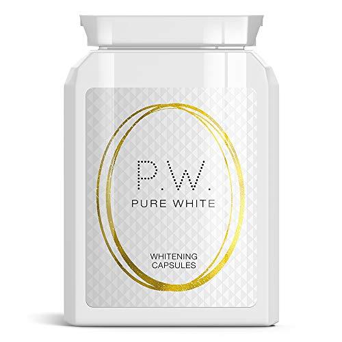 PURE WHITE CAPSULES BLANCHIMENT BLANC obtenir de la lumière FAIR PILULES DE LA PEAU BRIGHT CORPS CLAIR